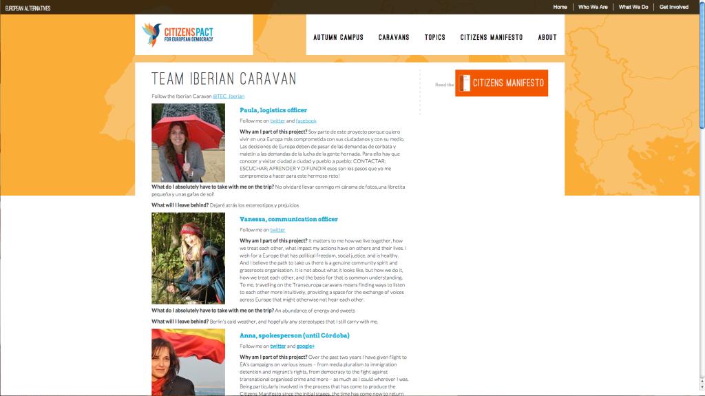 Transeuropa Caravans web